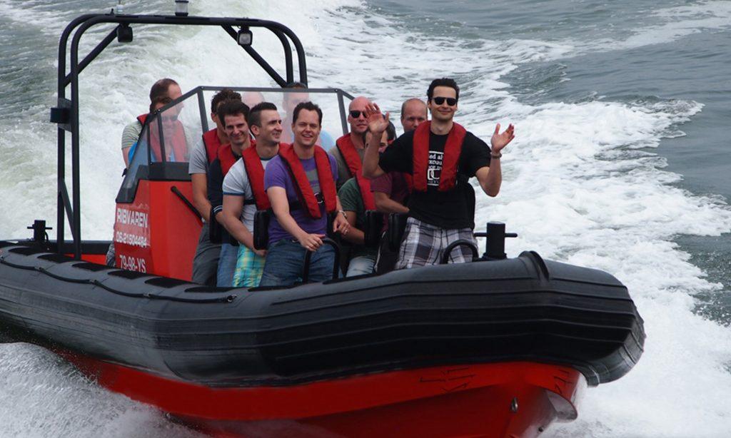 RIB varen IJmuiden